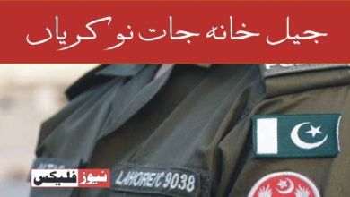 جیل خانہ جات نوکریاں 2021 پنجاب