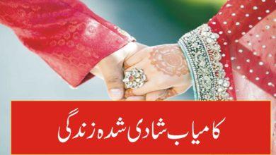 کامیاب شادی شدہ زندگی