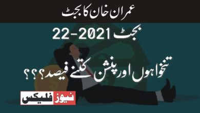 عمران خان کا حکومتی بجٹ ! 2021،2022