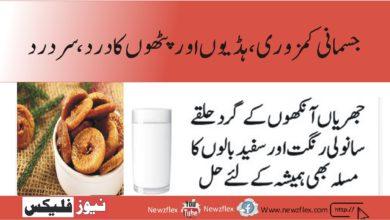 رات کو ایک گلاس دودھ میں یہ چیز ڈال کر پی لیں۔ جسمانی کمزوری ہڈیوں جوڑوں اور پٹھوں کا درد ختم