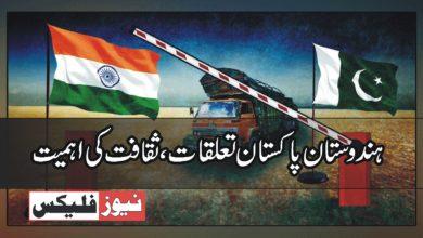ہندوستان – پاکستان تعلقات: ثقافت کی افادیت