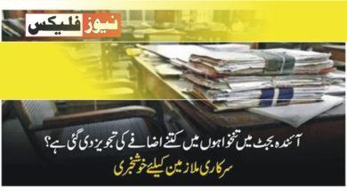 بجٹ 2021-22: پنجاب حکومت کے ملازمین کی تنخواہوں میں 10 فیصد اضافے کی تجویز