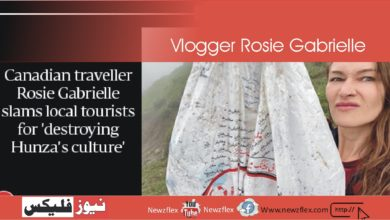 Vlogger Rosie Gabrielle says city tourists 'spreading vulgarity, destroying Hunza's culture'