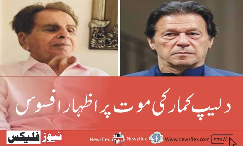 پاکستان اور لندن میں دلیپ کمار کی موجودگی کی وجہ سے خطیر فنڈ جمع ہو جایا کرتا تھا-وزیراعظم