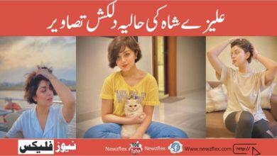 علیزے شاہ کی حالیہ دلکش تصاویر