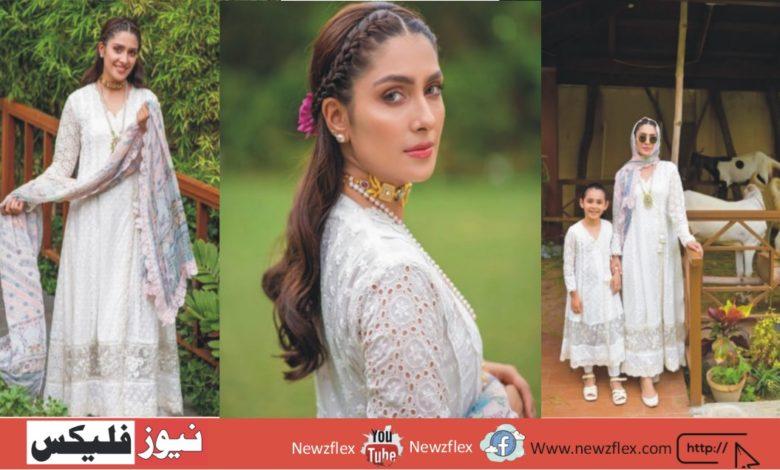 عائزہ خان اپنی عید کی تازہ ترین تصویروں کے ساتھ