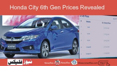 Honda City 6th Gen Prices Revealed; Starting from Rs. 25,99,000