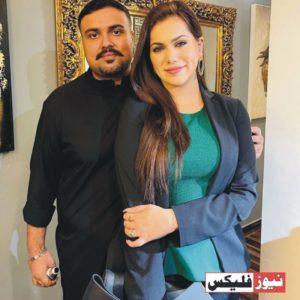 غناء علی کی شوہر کے ساتھ حالیہ تصاویر