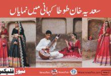سعدیہ خان، حسین ریہر کی طوطاکہانی میں نمایاں ہیں