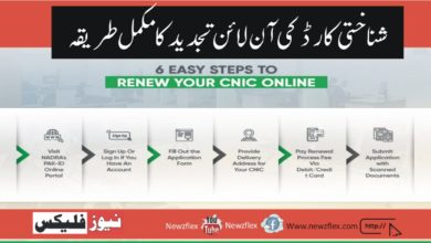 Step-by-step Guide to Renewing Your CNIC Online With NADRA