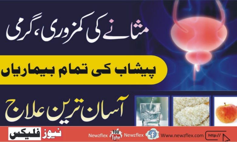 Treatment of bladder weakness, heat and all urinary tract diseases