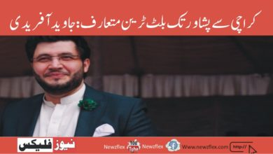 Bullet Train to be introduced from Karachi to Peshawar: Javed Afridi gives a hint