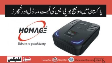 Homage UPS Price in Pakistan 2021- Latest models and Features