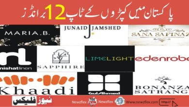 Top 12 Clothing Brands In Pakistan