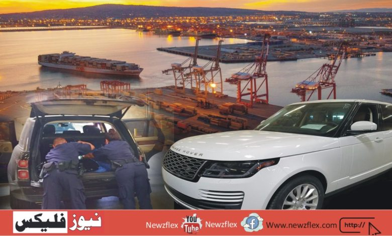 Import of stolen automobiles been declared illegal by the government