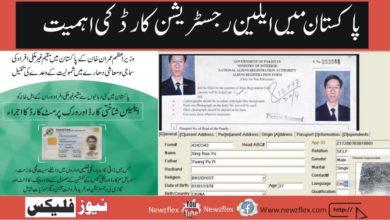 The Importance of 'Alien Registration Card' in Pakistan
